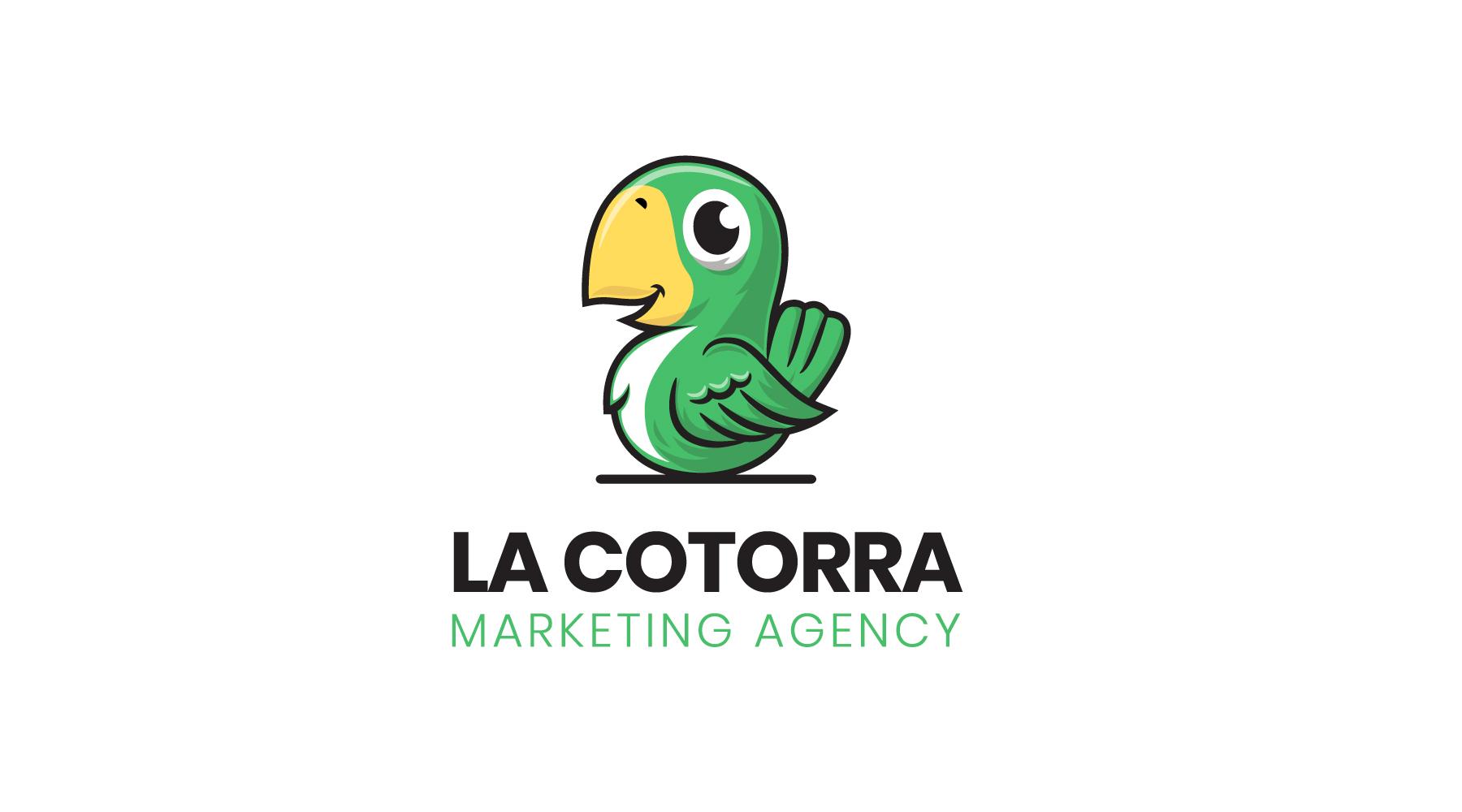 Diseño de logotipo para agencia de marketing