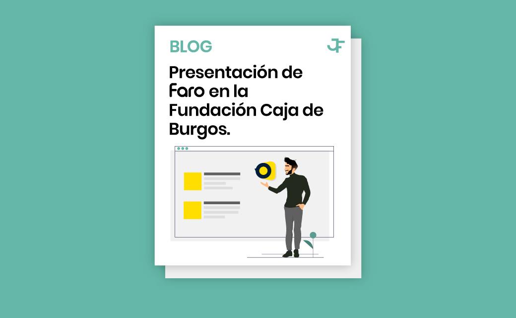 Presentación de Faro en la Fundación Caja de Burgos